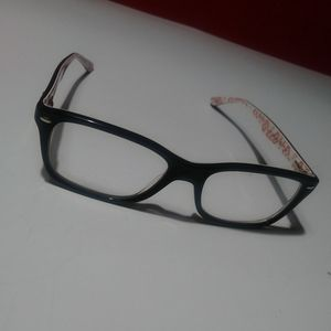Clear lense Ray-Ban glasses